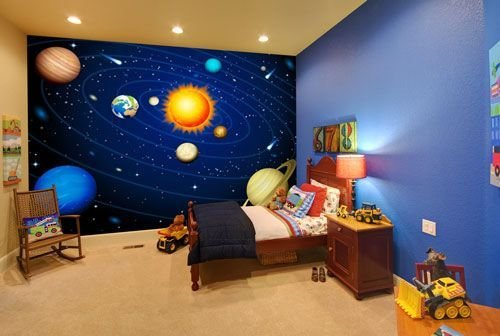 Best Childrens Space And Planets Mural Kids Indoor With Pictures