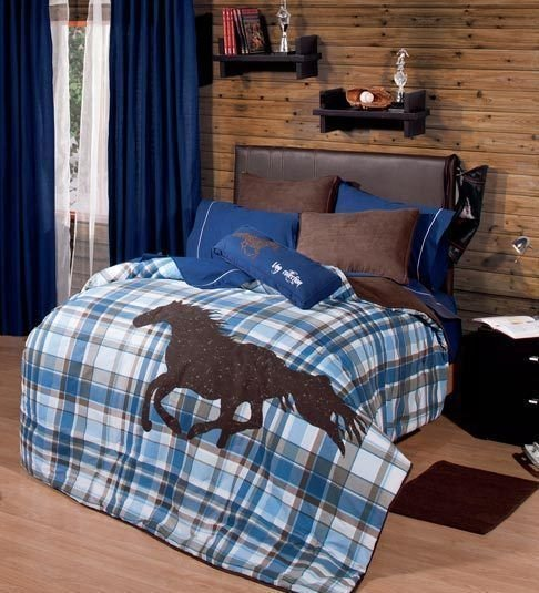 Best Twin And Full Boys And Teens Polo Horse Comforter Set With With Pictures