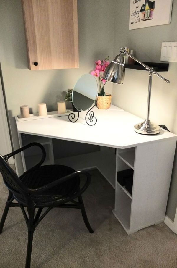 Best 25 White Corner Desk Ideas On Pinterest At Home Office Ideas Study Desk And Small With Pictures
