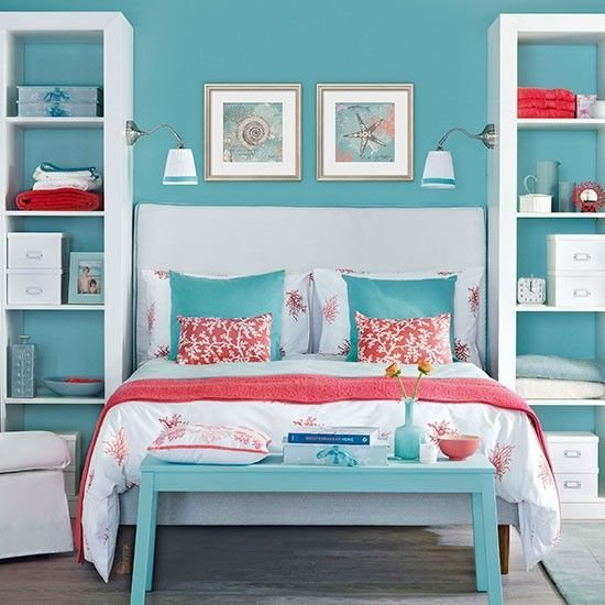 Best Awesome Above The Bed Beach Themed Decor Ideas Coral With Pictures
