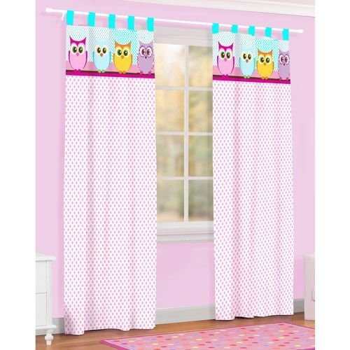 Best Bought These Drapes Too For My Girls Too Owl Microfiber With Pictures