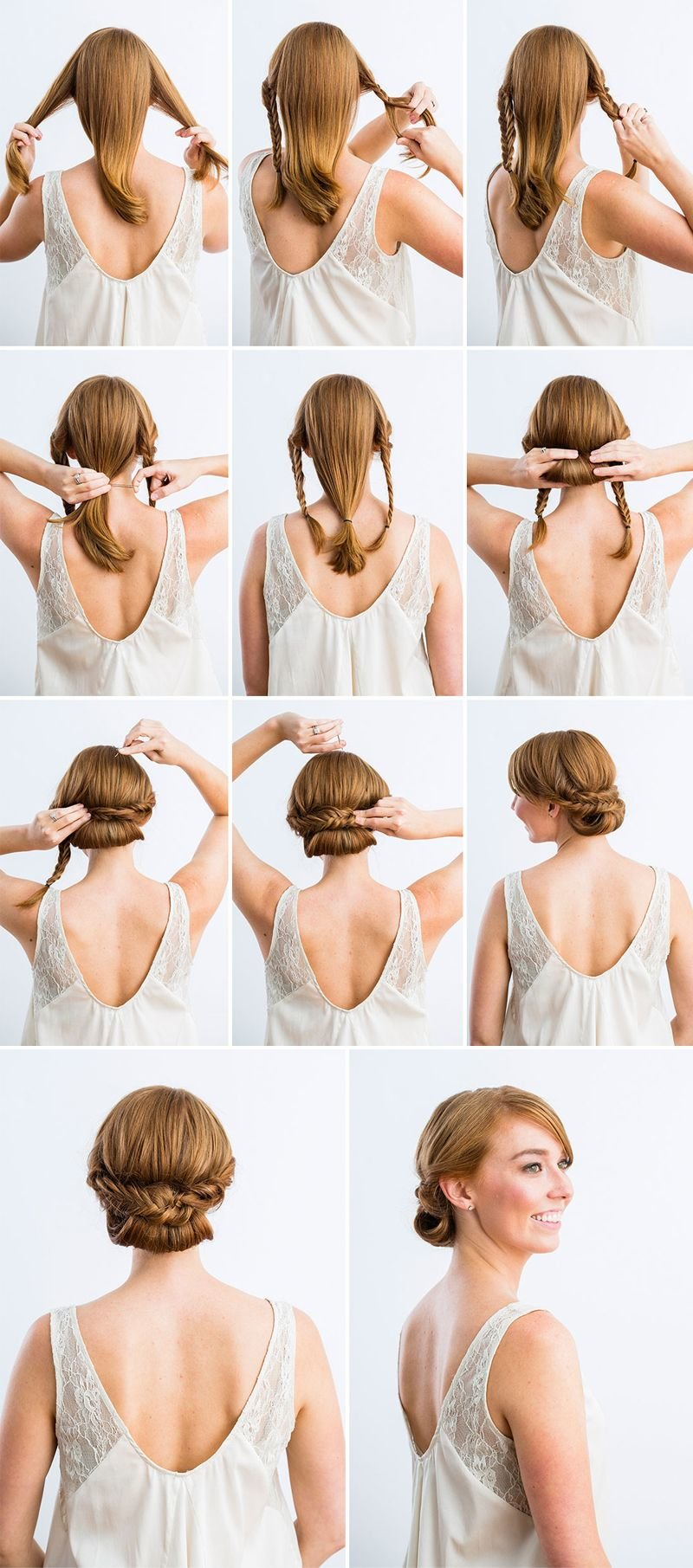 Free 10 Best Diy Wedding Hairstyles With Tutorials Diy Wallpaper