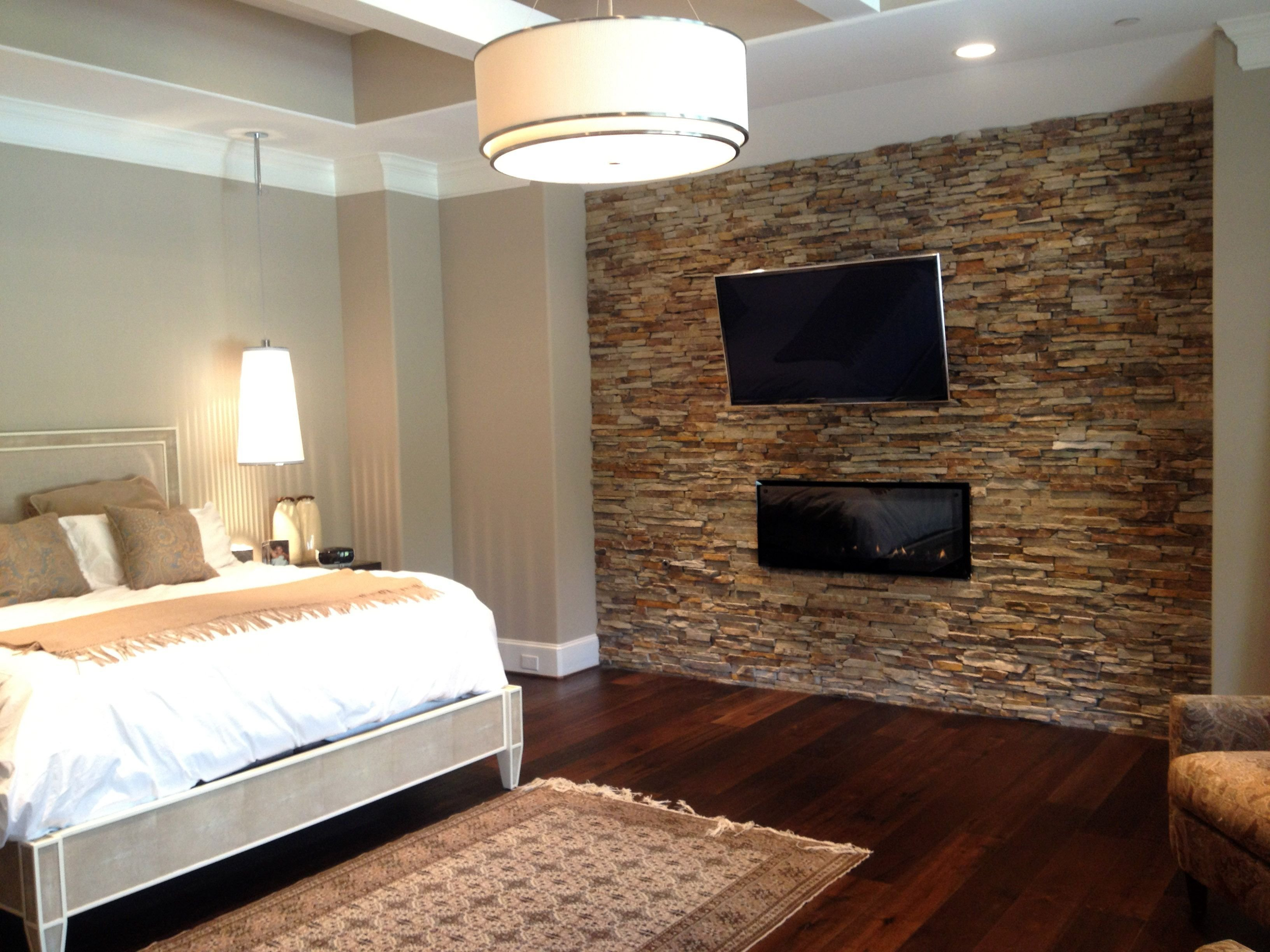 Best Master Bedroom Virginia Ledgestone Accent Walls With Pictures