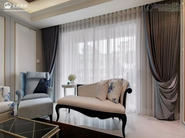 Best Modern Living Room Curtains 2014 Beautiful Modern Living With Pictures