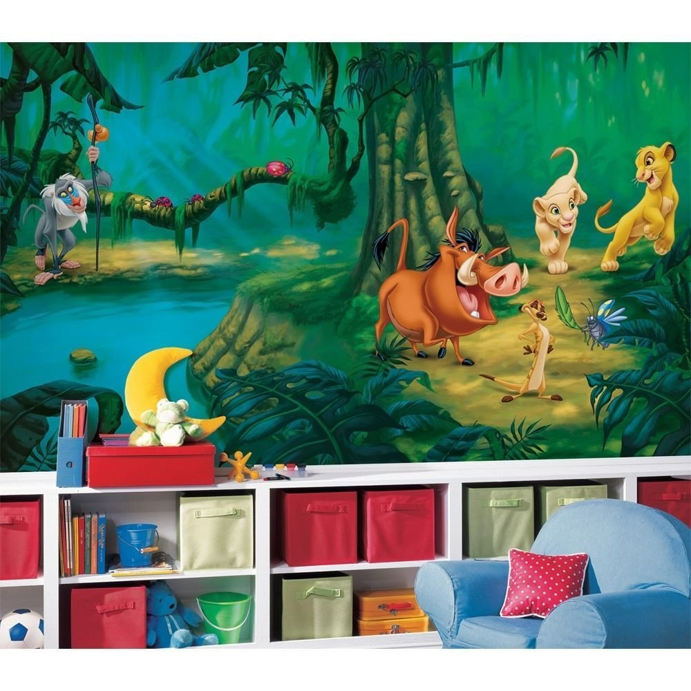 Best New Xl Lion King Wall Mural Disney Wallpaper Decor Lions With Pictures