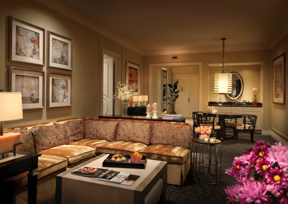 Best Two Bedroom Lago Suite At Palazzo 1 943 Square Feet With Pictures