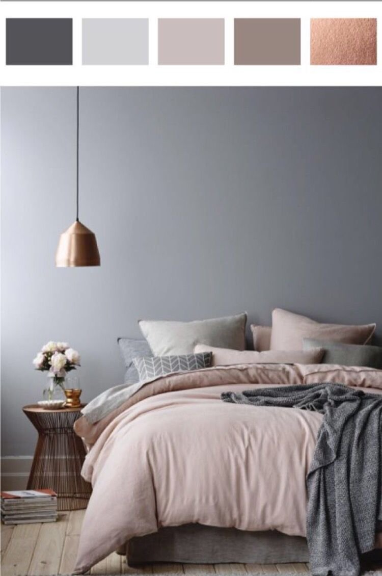 Best 5010 Shades Of Grey In The Bedroom Dusty Pink Rose And Gray With Pictures