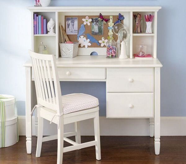 Best Girls Bedroom Ideas With Small White Study Desk And Chair This Is Sorta What I Am Looking For With Pictures