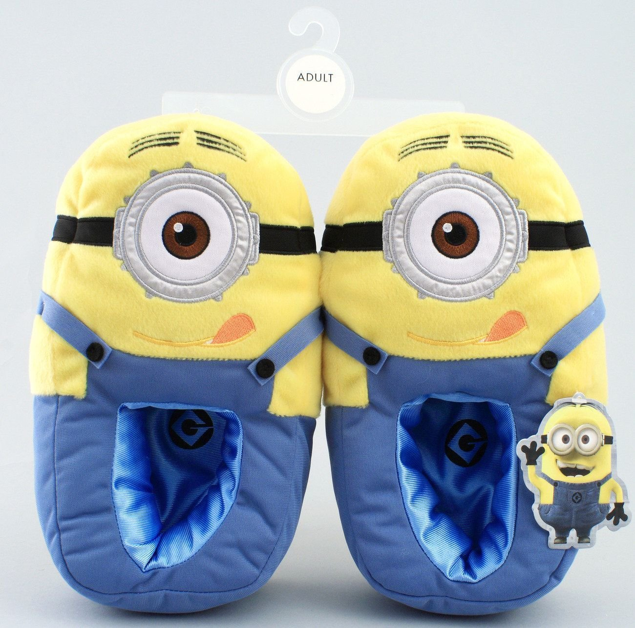 Best Despicable Me Minion Plush Bedroom Slippers Minion Mayhem With Pictures