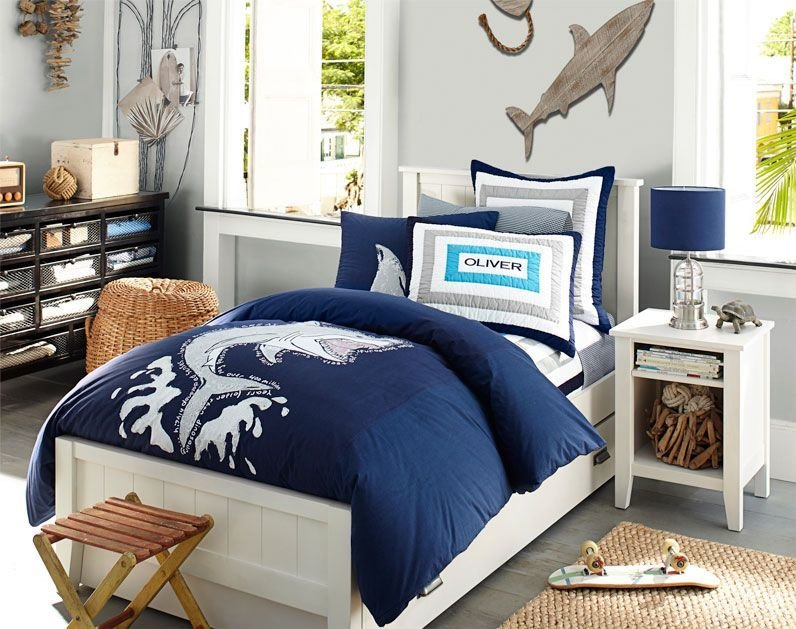 Best Shark Room I Love The Dresser Decorating Boys Room Boy With Pictures