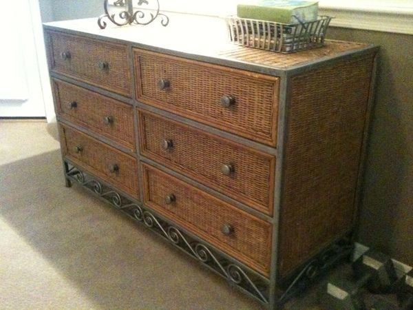Best Pier 1 Wicker Metal 6 Drawer Dresser Home Pinterest With Pictures