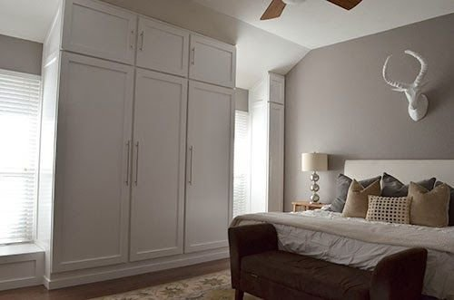 Best Diy How To Build A Wall Of Closets From Scratch For The With Pictures