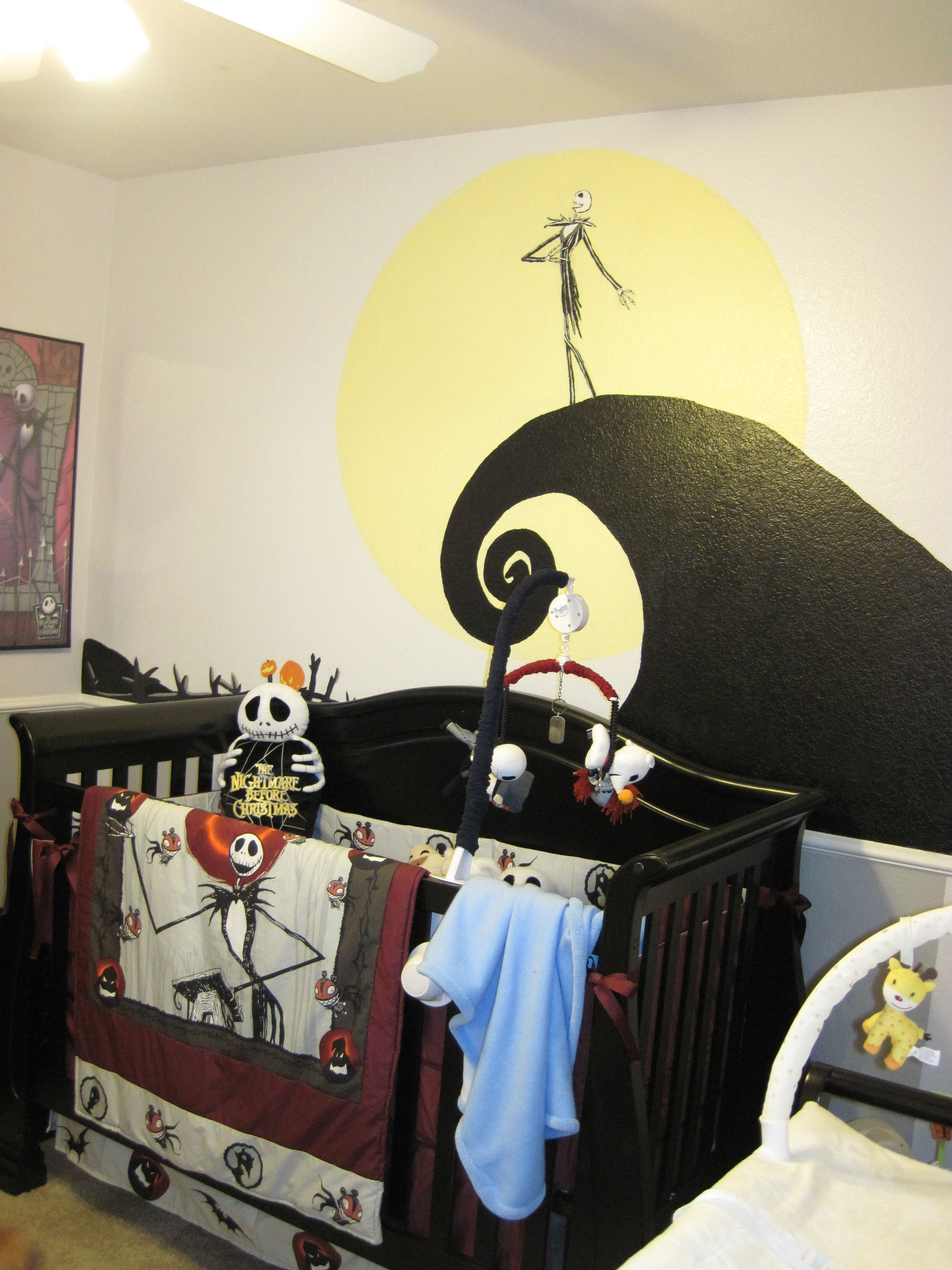 Best Nightmare Before Christmas Nursery *Mg I Wanted To Do With Pictures