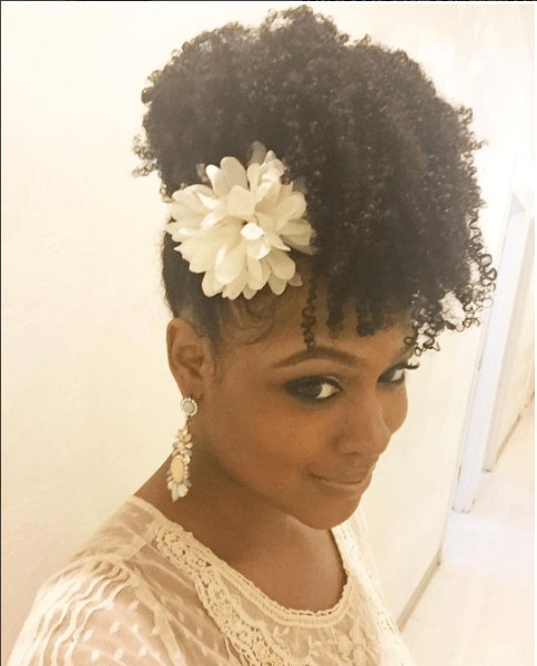 Free Chic Natural Hairstyles For Weddings More Elegant Updo Wallpaper