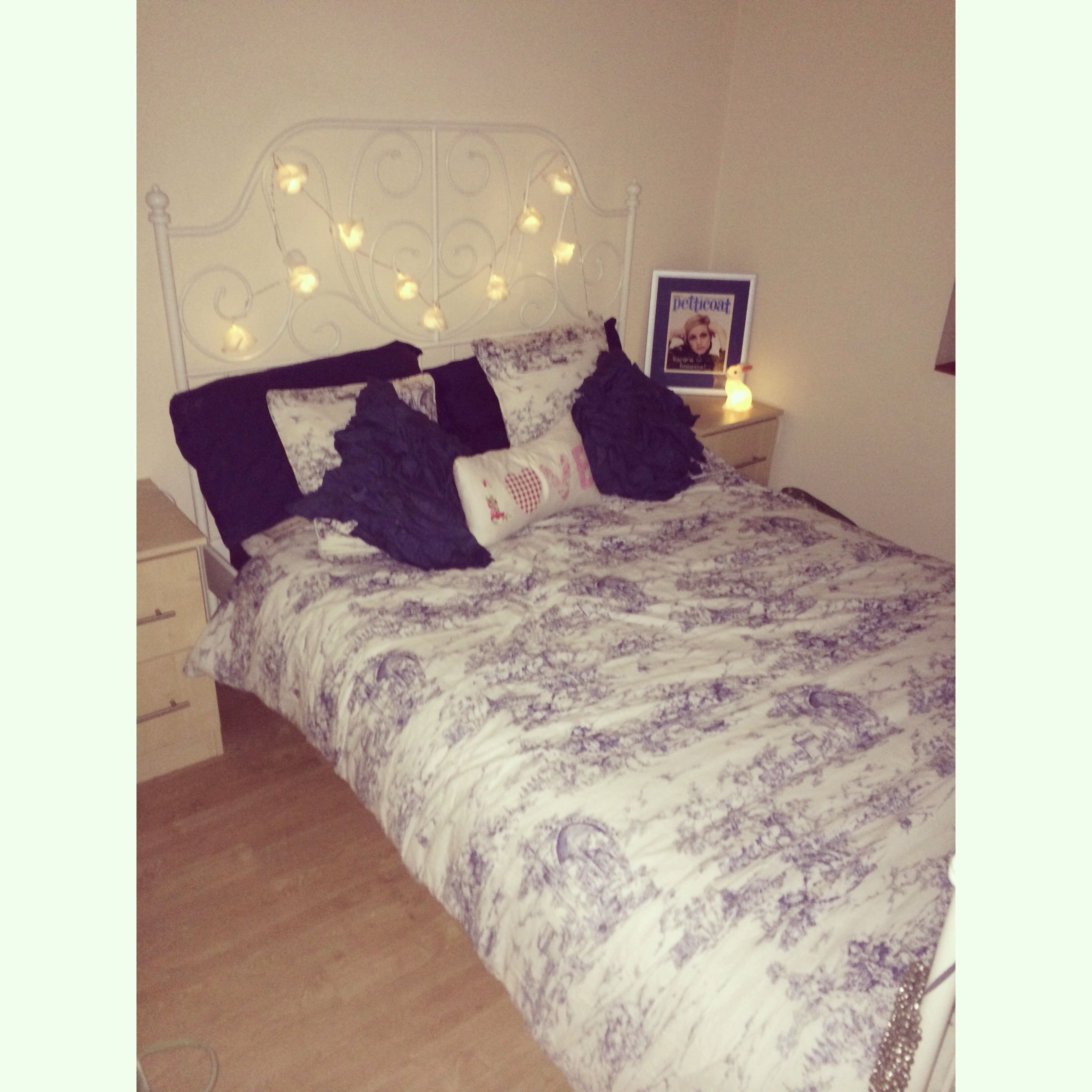 Best Leirvik Ikea Bed Fairy Lights Twiggy Deco Pinterest With Pictures