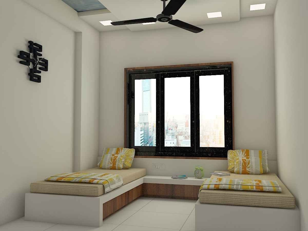 Best Kid S Bedroom With Glass Window Designed By Kamlesh Maniya With Pictures