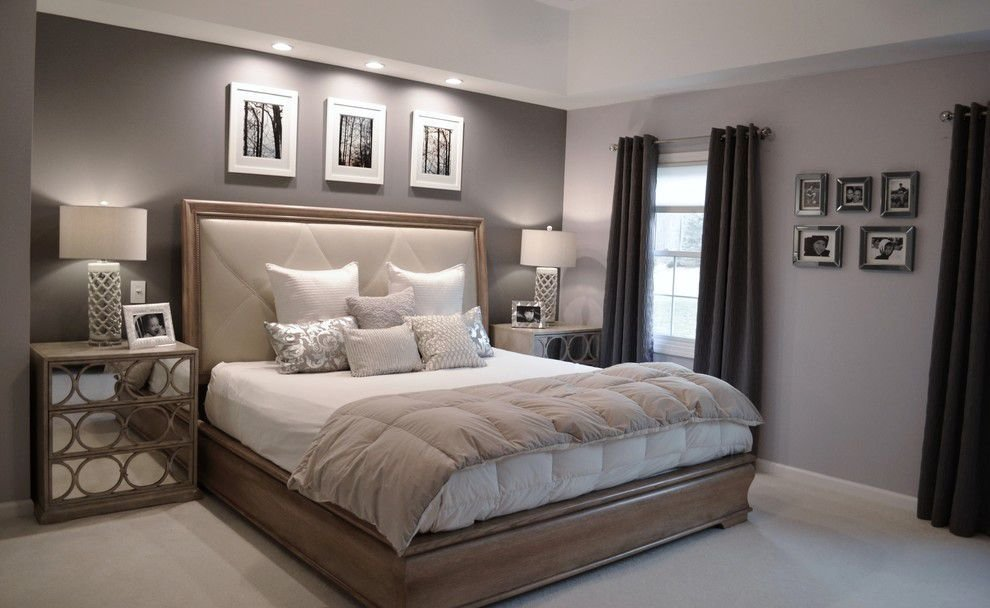 Best Ben Moore Violet Pearl Modern Master Bedroom Paint With Pictures