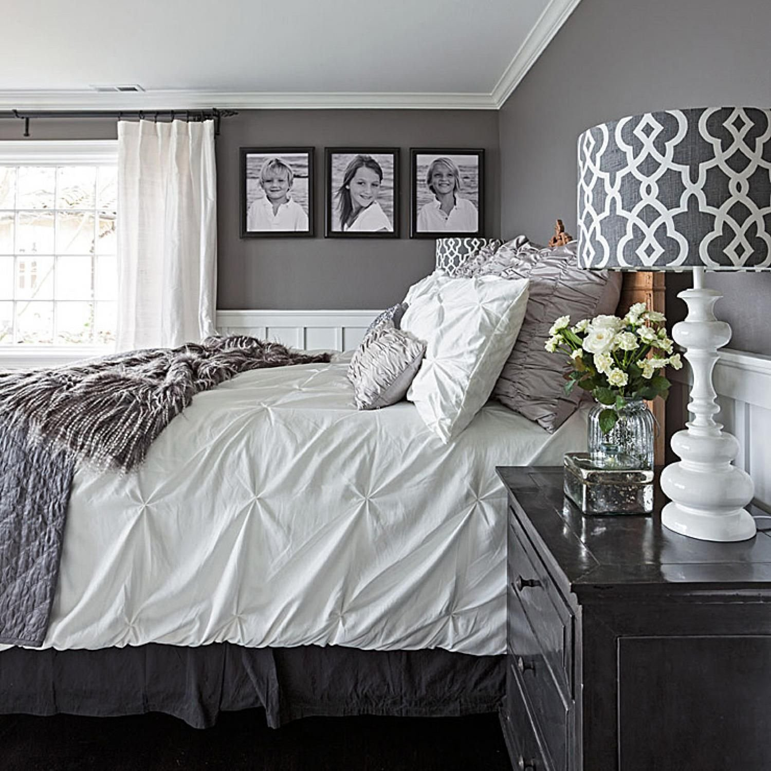 Best Gorgeous Gray And White Bedrooms Bedrooms Pinterest With Pictures