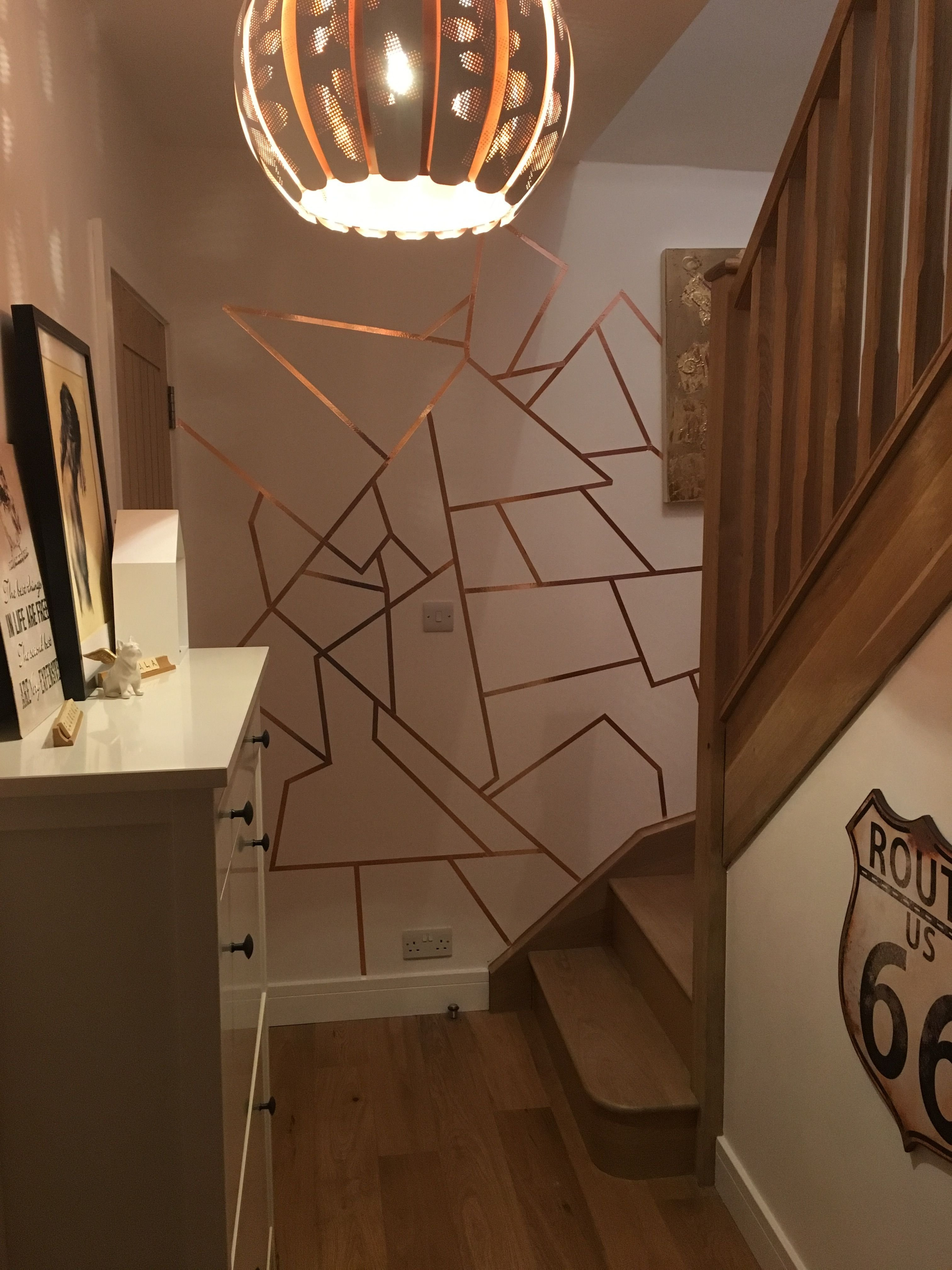 Best Copper Slug Tape On Walls Inside Pinterest Walls With Pictures