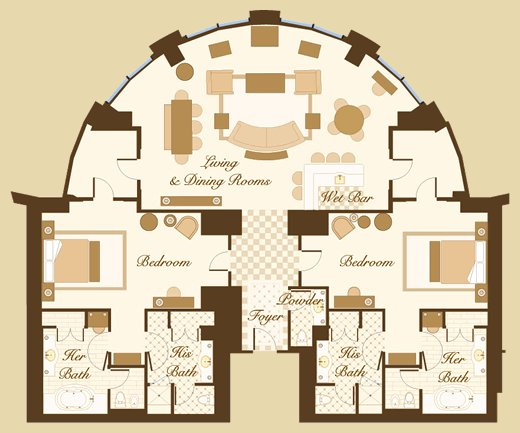 Best Las Vegas Suite Bellagio Hotel Las Vegas Floorplans I With Pictures