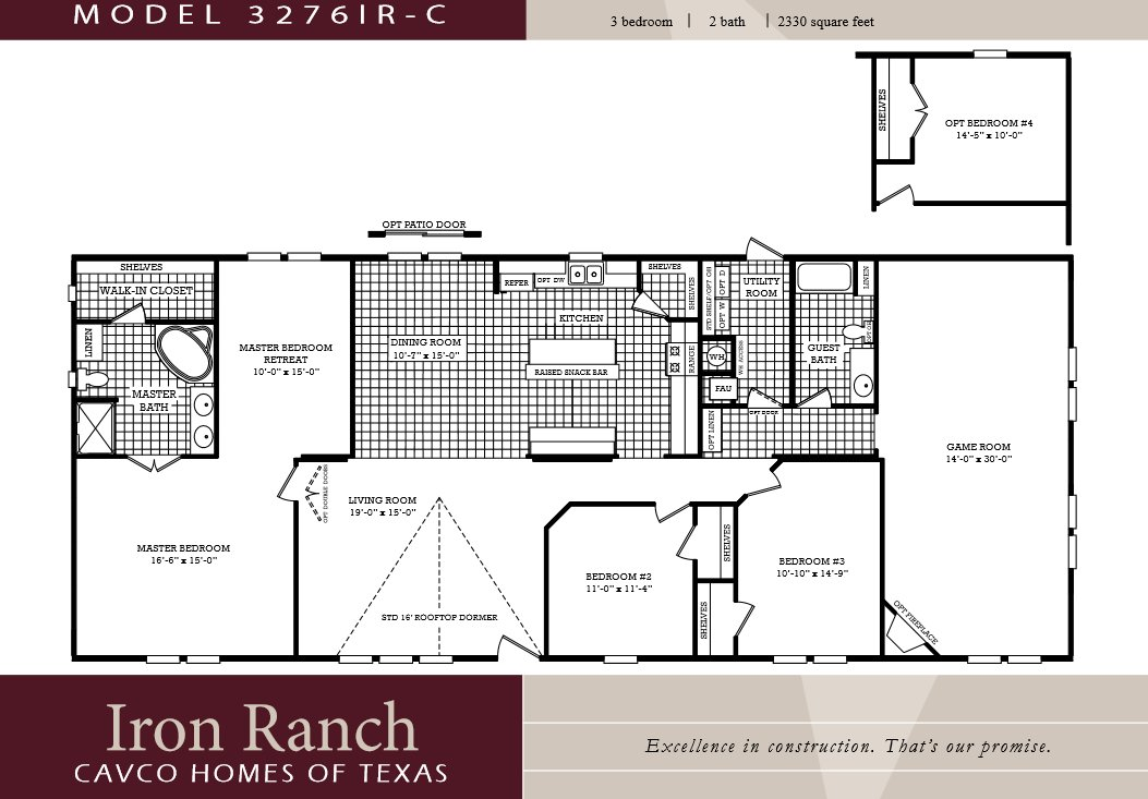Best 3 Bedroom Ranch Floor Plans Large 3 Bedroom 2 Bath With Pictures