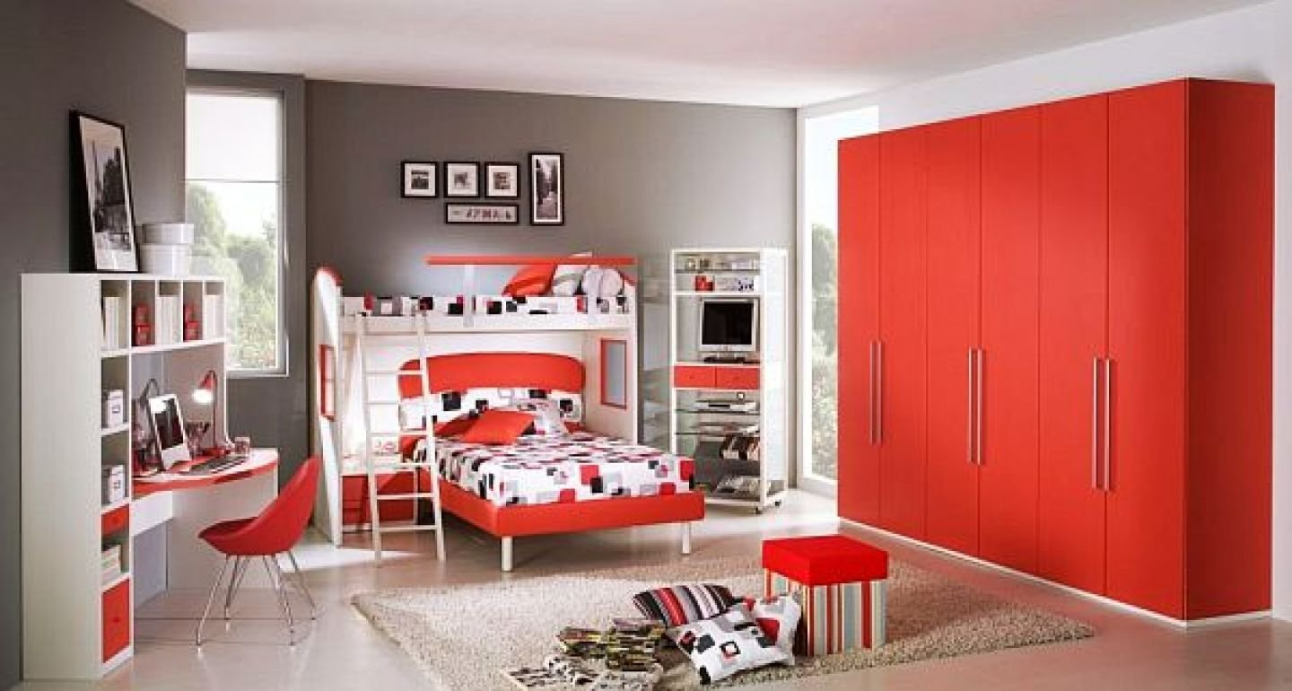 Best Bedroom Kids Bedroom Best Red Color Pictures Of Boys With Pictures