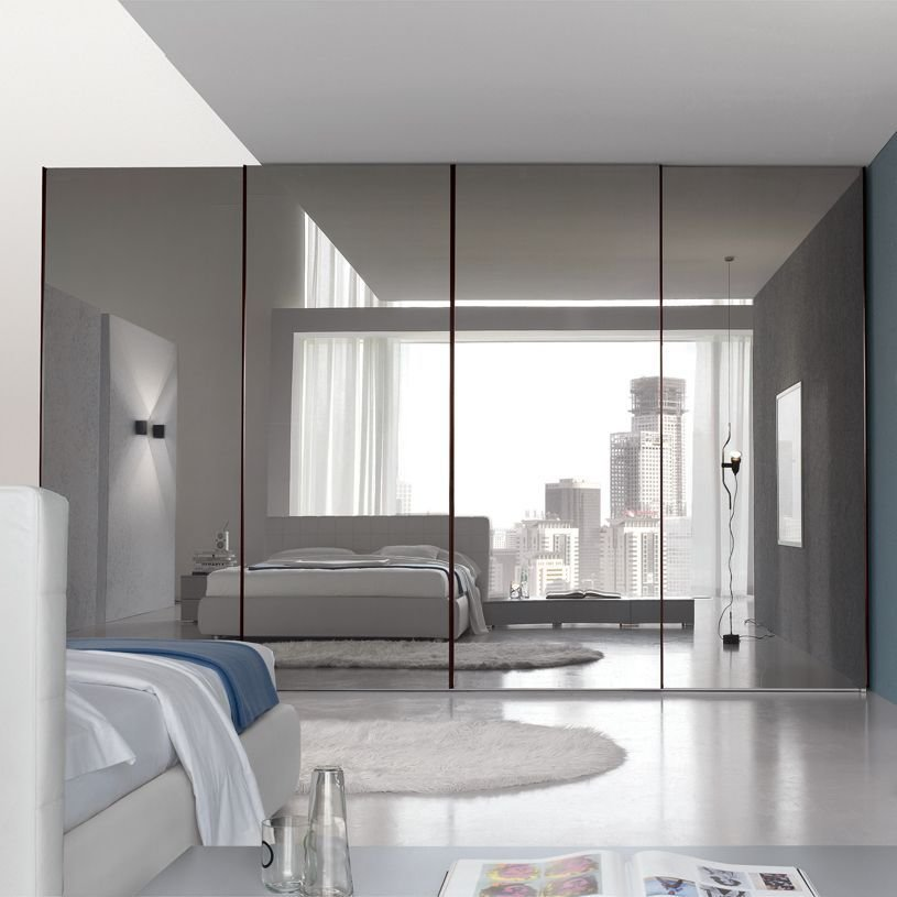 Best Bedroom Inspiring Large Master Bedroom With Mirrored With Pictures
