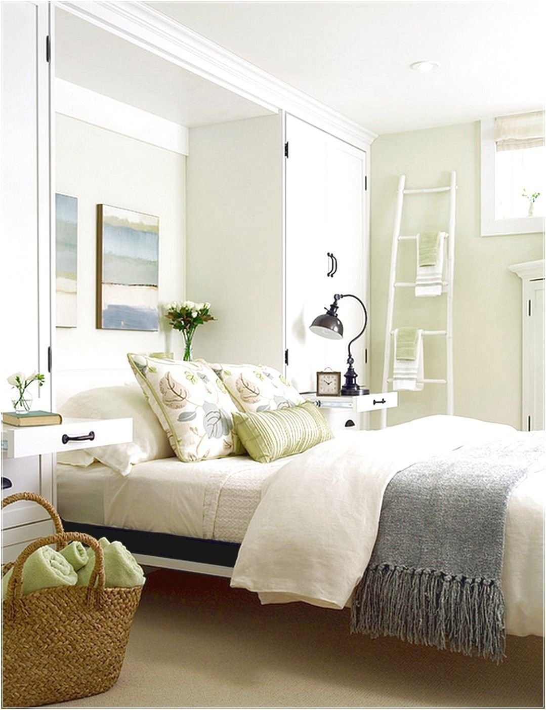Best A Breezy And Cool Color Scheme For The Basement Bedroom With Pictures