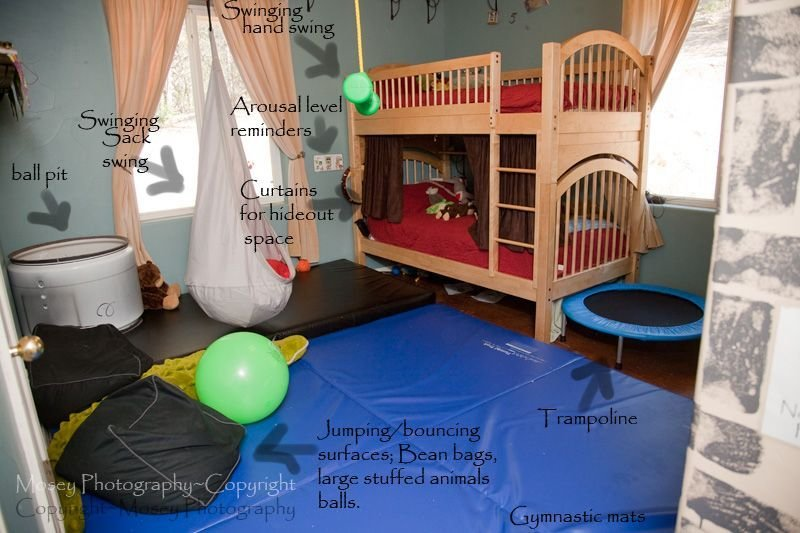Best The Room Is Coming Together Spd Autism Allergies With Pictures
