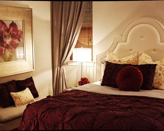 Best Bedroom Burgundy Design Pictures Remodel Decor And With Pictures