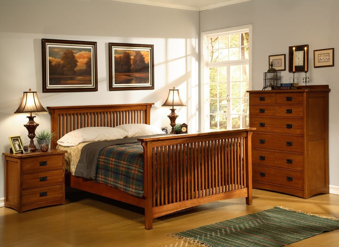 Best Home Furniture Store American Craftsman Slatted Bedroom With Pictures