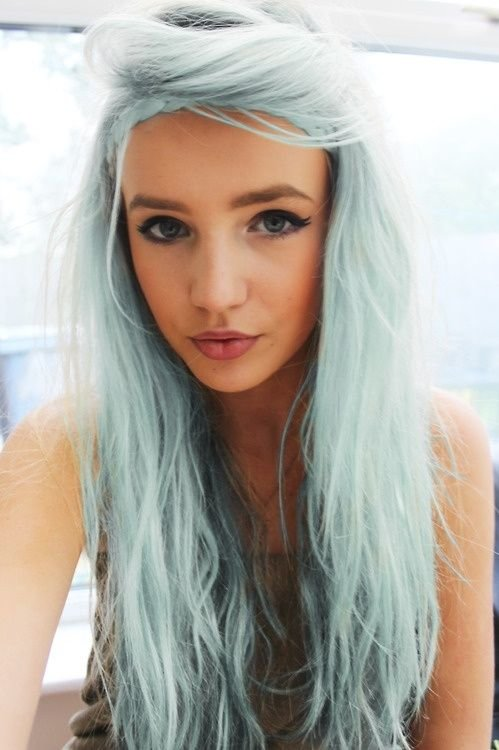 Free What Color Should You Dye Your Hair Blue Colors Gray Wallpaper