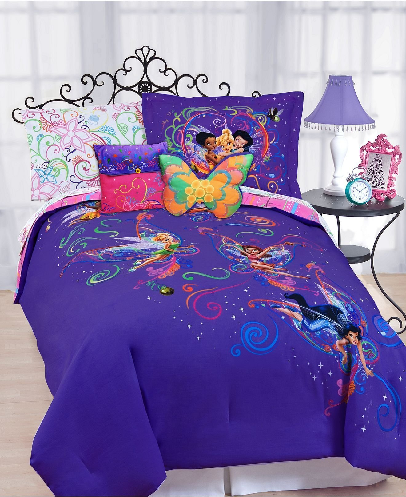 Best Disney Bedding Surreal Garden Disney Tinkerbell Comforter With Pictures