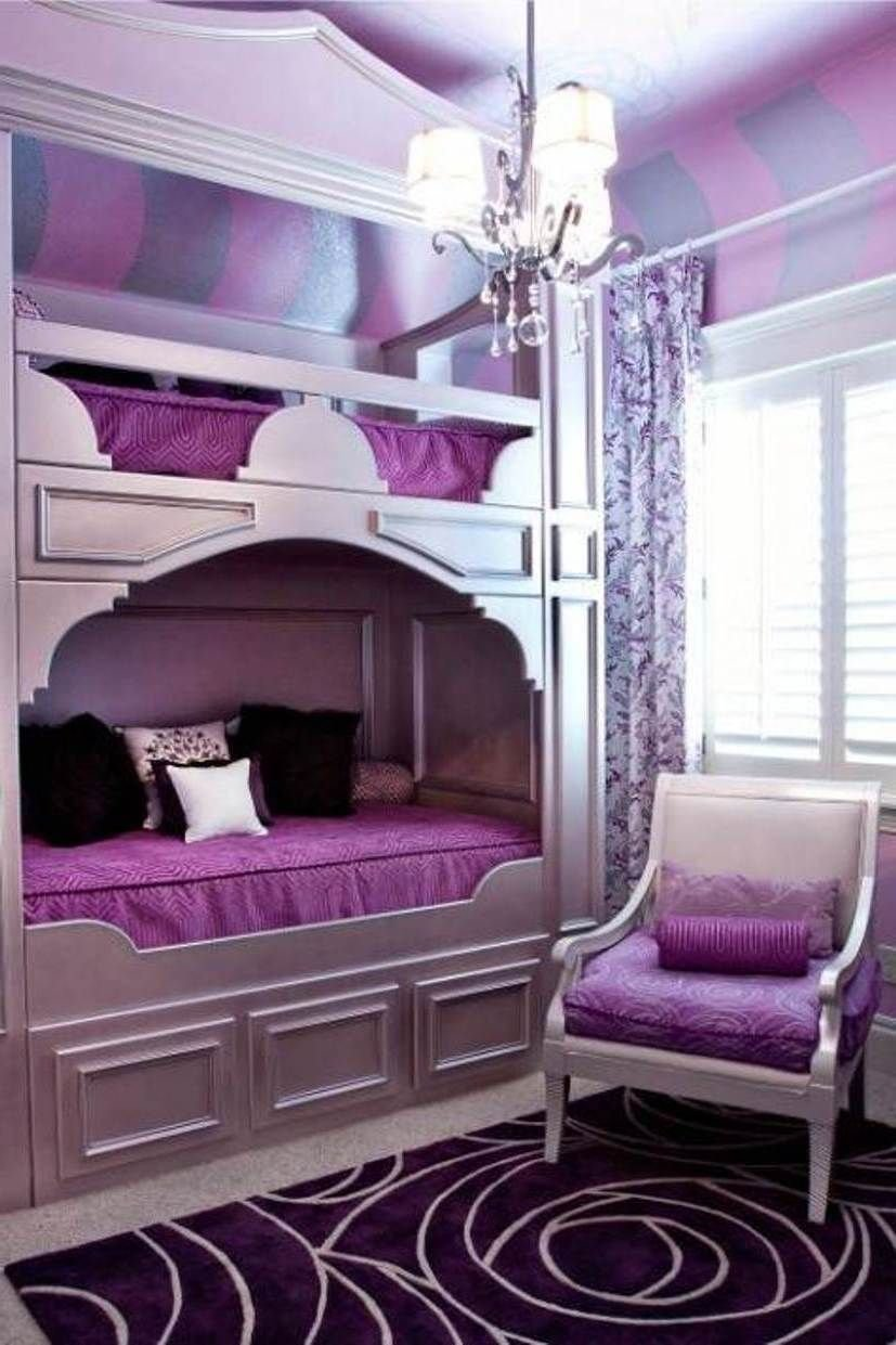 Best Purple Bedrooms For Teens Decorating Purple Bedroom With Pictures