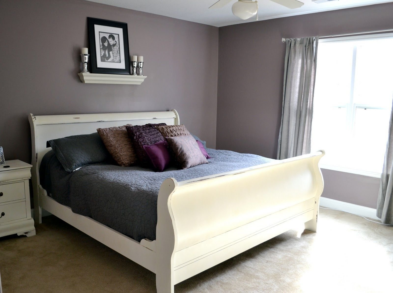 Best 25 Sleigh Bed Painted Ideas On Pinterest Cherry Wood Bedroom Painting White Bedroom With Pictures