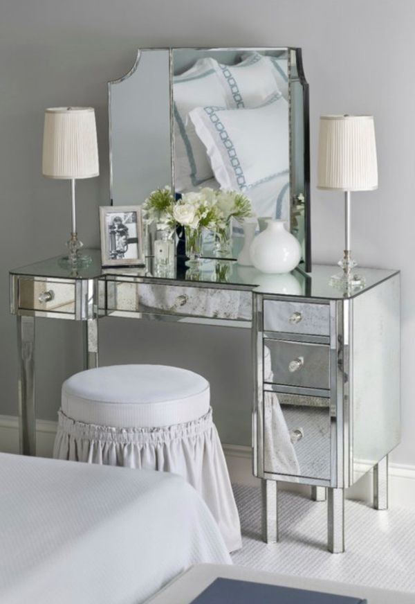 Best Bedroom Makeup Vanity With Lights Make Up Vanity Vanity With Pictures