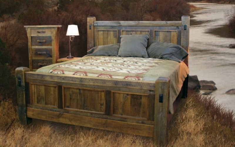 Best Handcrafted Reclaimed Wood Bed And Bedroom Furnture With Pictures