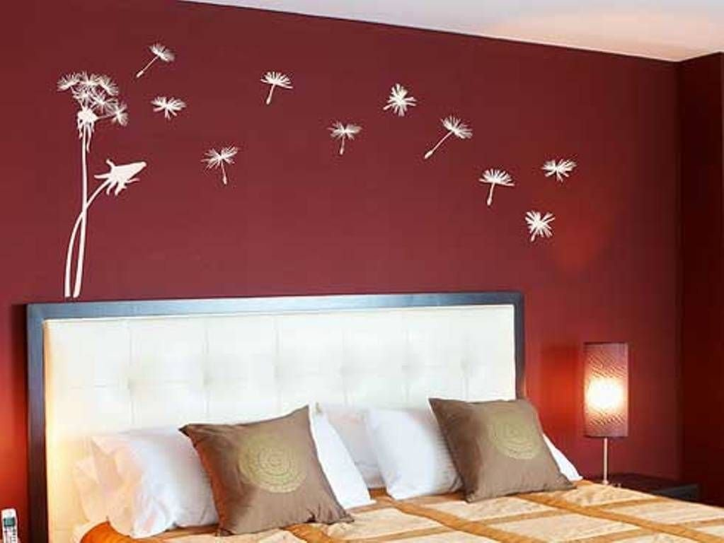 Best Red Bedroom Wall Painting Design Ideas Wall Mural With Pictures