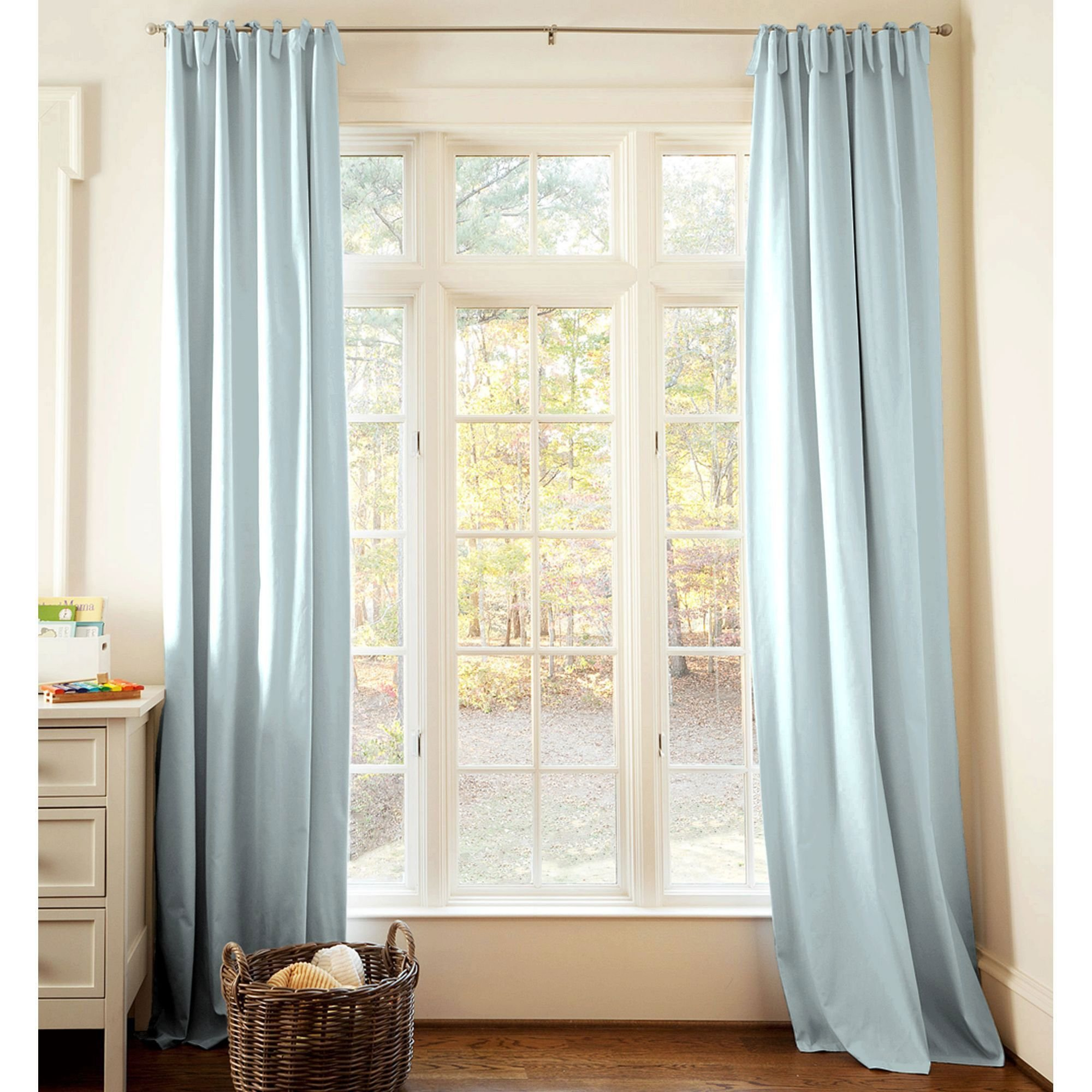 Best Solid Robin S Egg Blue Drape Panel Light Blue Curtains Room And Bedrooms With Pictures