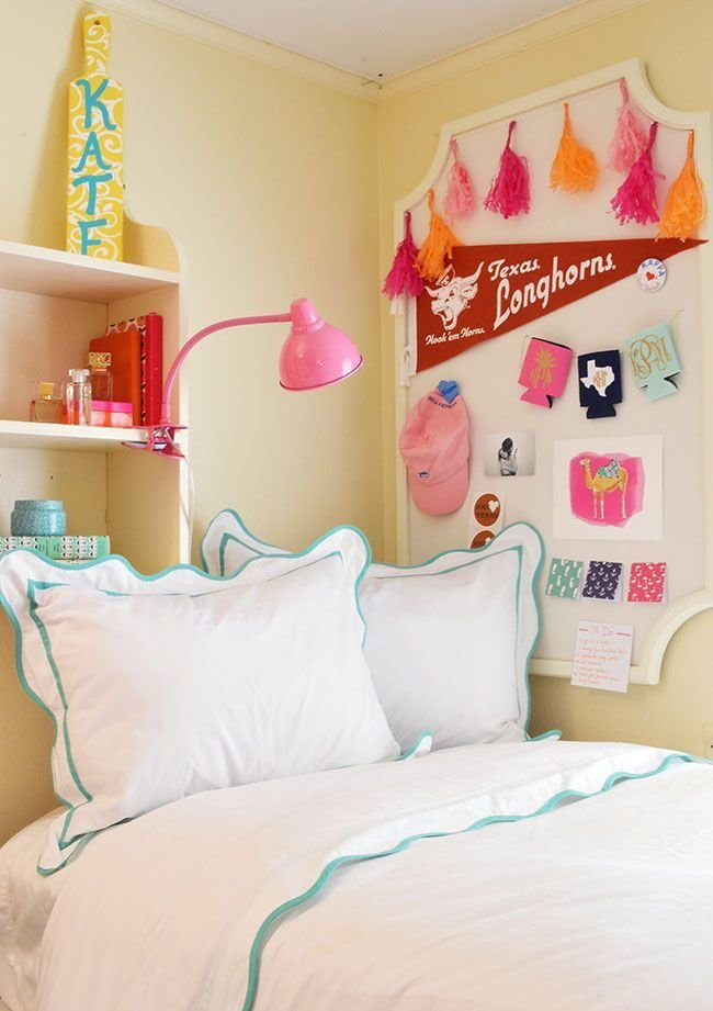 Best Sorority House Rooms On Pinterest Preppy Dorm Room Pink With Pictures