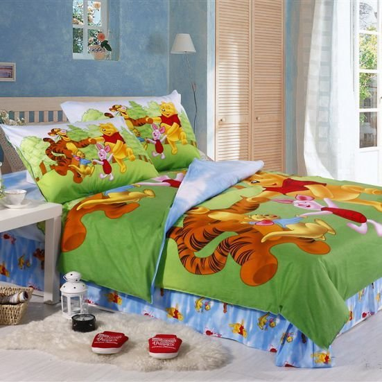 Best Winnie The Pooh Bedroom Happy Winnie The Pooh Bedding With Pictures