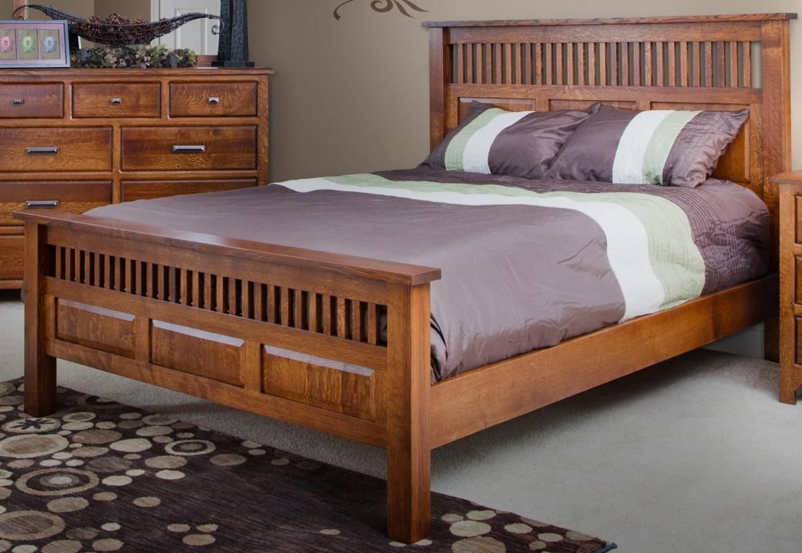 Best Mission Style Oak Bedroom Furniture Craftsman Bedroom Mission Beds Pinterest Oak With Pictures