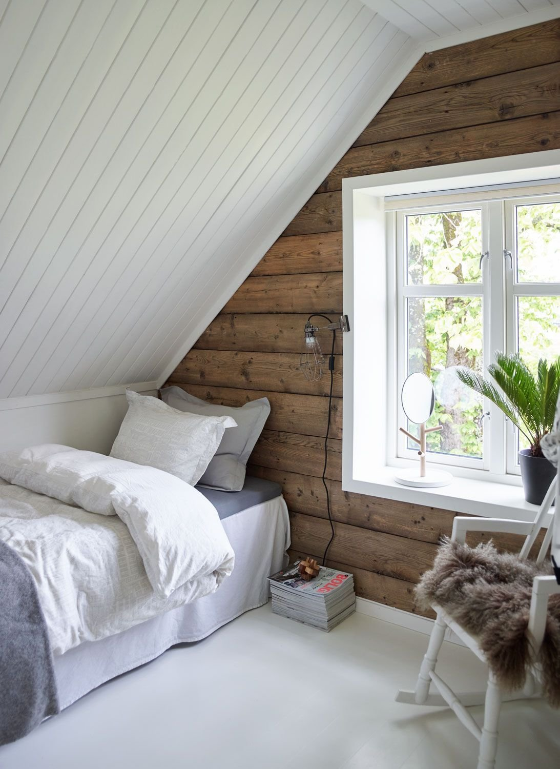 Best Source Boligpluss Random Pinterest Small Attic With Pictures