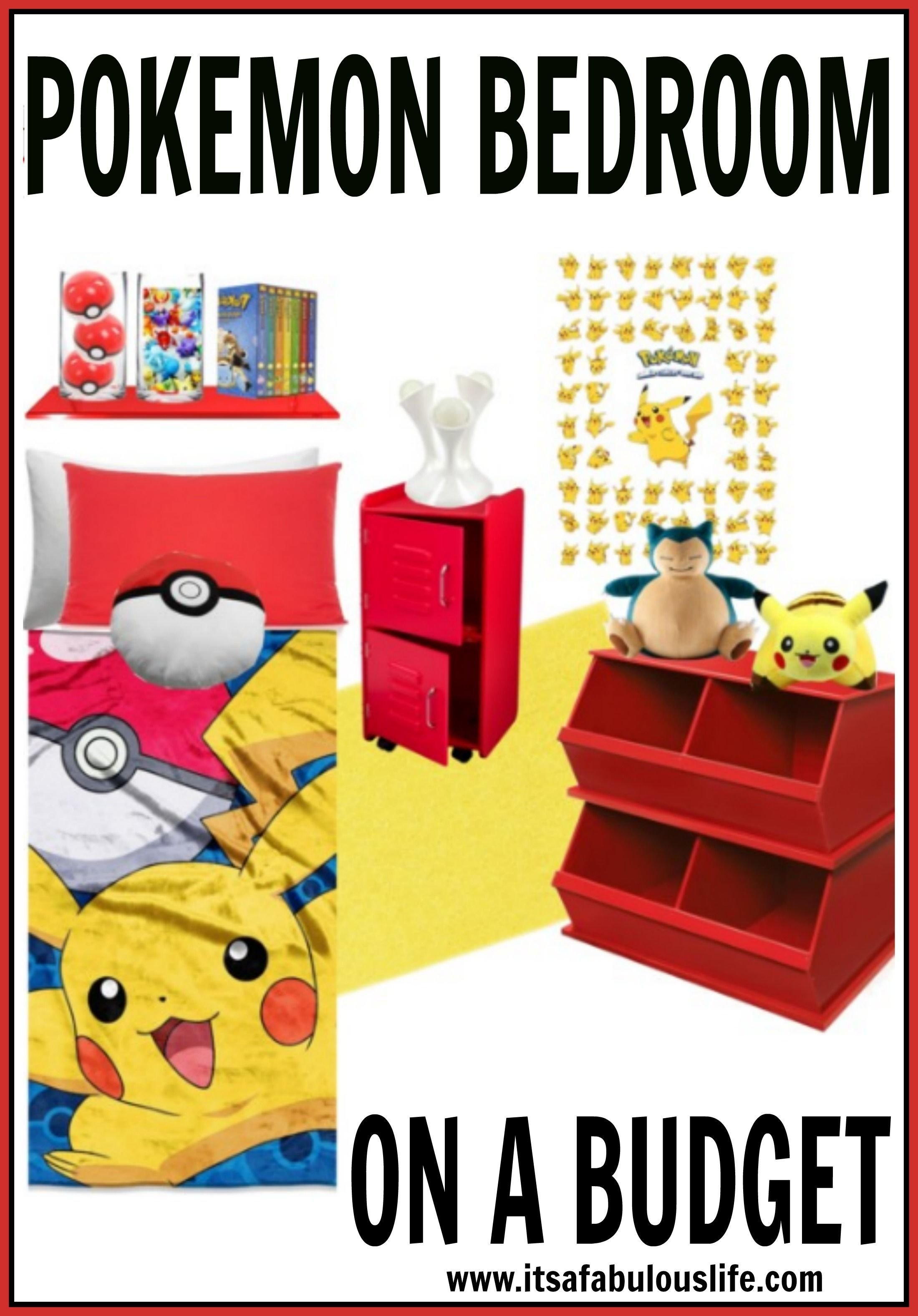 Best Pokemon Bedroom Ideas On A Budget Pokémon Budgeting And With Pictures