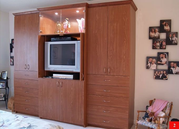 Best Aventa Tv Wall Unit X Tall 10 Door Wardrobe Wall Unit With Pictures