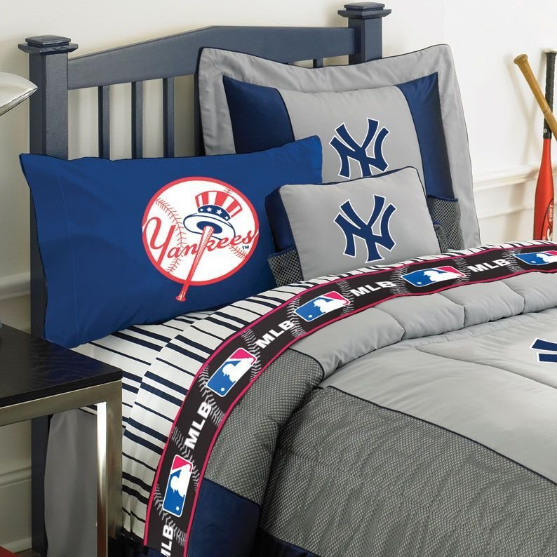 Best Ny Yankees Under Mlb Bedding Room Decor Accessories With Pictures