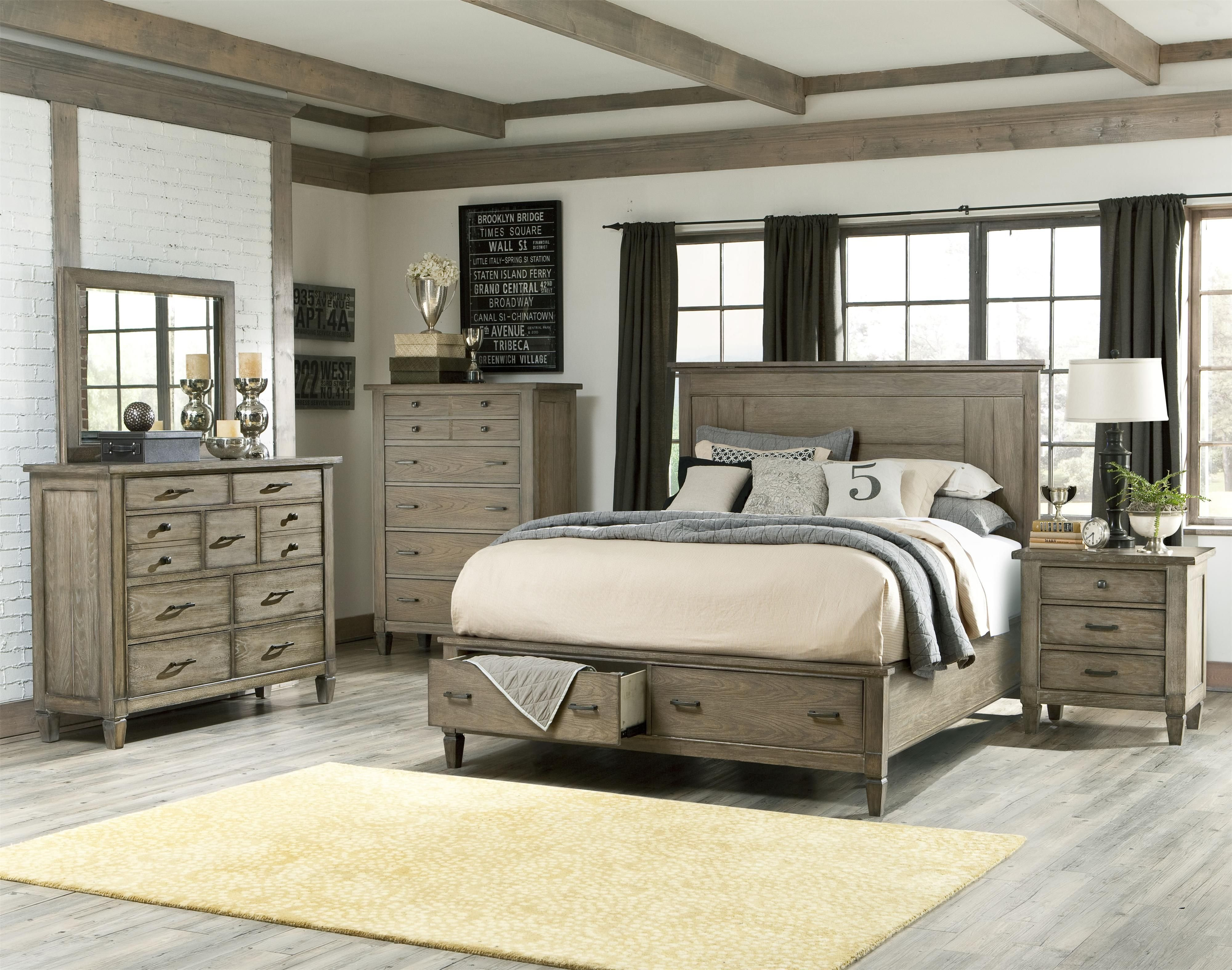 Best Coastal Master Bedroom Ideas Brownstone 3Pc Bed Mirror With Pictures