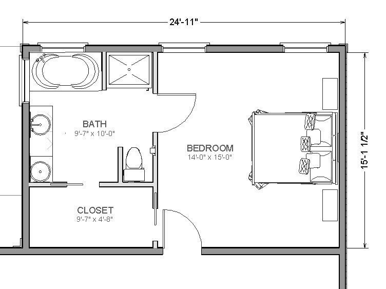 Best Home Addition Plans On Pinterest Master Suite Addition With Pictures