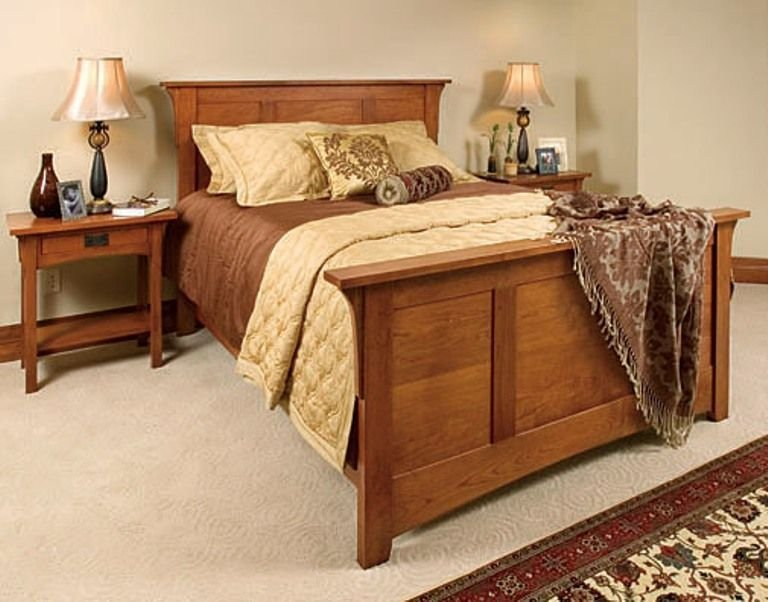 Best Mission Style Bedroom Set This Is Solid And Elegant Arts And Crafts Prairie Style With Pictures