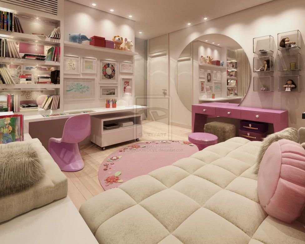 Best Comely Girls Room Inspirations Design Fancy Modern Girls With Pictures